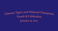 Clemson Tigers National Championship Parade